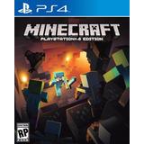 Minecraft 4° Ps4 | Digital Español Jugas Con Tus Usuarios!