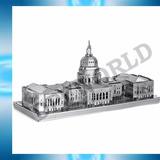 Rompecabezas Capitolio Estados Unidos Metalico Piezas 3d