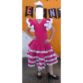 Vestido Flamenco Niña Poco Uso Sku