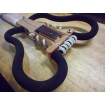 Ramá Viagem Travel Guitar Butterfly Violão Silent Vazado