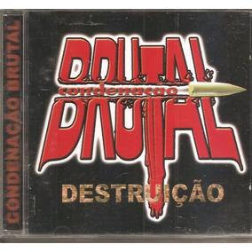 Cd Condenacao Brutal - Destruicao - Rap Nacional (1998) Novo