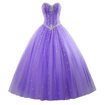 Vestido De 15 Años Color A Eleccion Hermoso!!