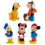 Disney Juego De 5 Mickey Mouse Y Sus Amigos Juguetes De Bañ