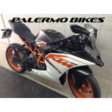 Ktm 200 Rc Solo 10700 Kms Blanco Modelo 2016 Palermo Bikes