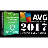 Avg Antivirus 2017 Licencia Original 5 Computadora Asta 2019