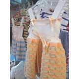 Vestidos Tejidos Bebés/conjuntos-vestido+gorrito+pantaleta