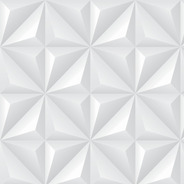 Papel De Parede Adesivo Geométrico Efeito Gesso 3d 2,80m