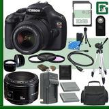 Canon Eos Rebel T3 Digital Slr Kit De Cámara Con 18-55mm...