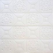 Placa Auto Adhesiva Decorwall Mosaico Relieve Apto Cieloraso