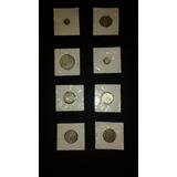Colección De Monedas De Plata Antigua 925 Aprox. 200 Años