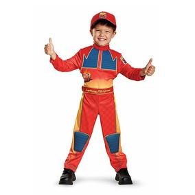 Disfraz Cars Rayo Mcqueen Para Niño *envio Gratis**