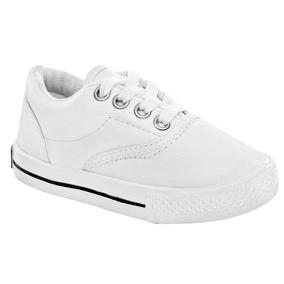 Tenis Escolar Blanco Esmeralda 101001 14-21 Env Inmediato Q3