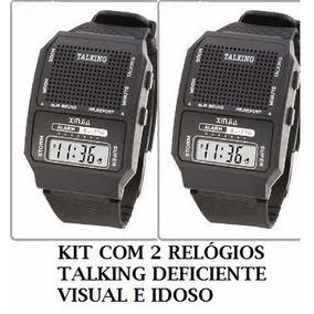 e46ac8bd3b0 Relogio Braille Para Deficiente Visual - Relógios De Pulso no ...