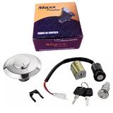 Kit Trava Contato Ignição Honda Cg 125 Fan 05/08 Maxx