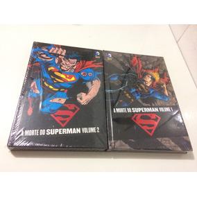 A Morte Do Superman Completo 2 Volumes - Novos E Lacrados