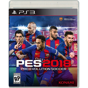 Pro Evolution Soccer 2018 Pes 18 Playstation 3 Ps3 Fisico