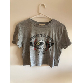 Remera Manga Corta Gris Born To Ride Billabong