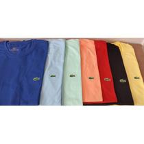 Kit 3 Camisas Tamanho Especial - Lacoste, Hollister, Polo