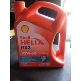 Aceite Shell Mineral 25w-60 Shell Hx3