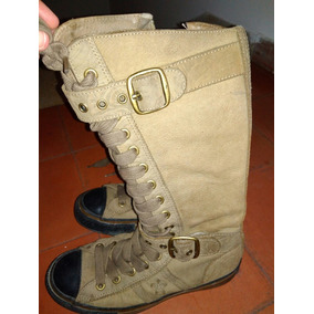 Botas 100%cuero Converse All Star