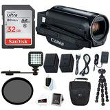 Canon Vixia Hf R800 Videocámara (negro) Con Tarjeta Sd De 3