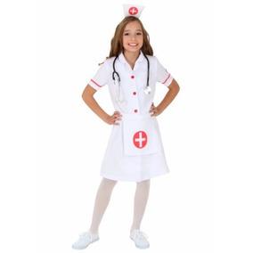 Disfraz Enfermera Niña Y Niñas Pequeñas