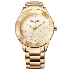 Relógio Femininotechnos 2036llp4x À Prova D`água 50 M