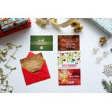 Tarjeta De Navidad Y Año Nuevo Felices Fietas Sobre Al Tono