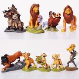 Kit 9 Bonecos Personagens Do Rei Leão Walt Disney