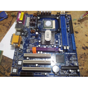Mother Asrock P4i45gv Andando Ok + Celeron + Cooler