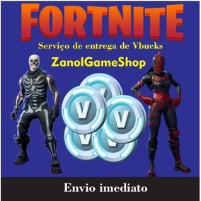 Vbucks Fortnite Para Pc 2500+300(bônus) Pc