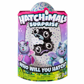 Hatchimals Surprise Gemelos Giraven Peacat Huevo Mascota