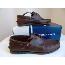 Zapatos Escolares Boating Del 39 Al 45 Marron