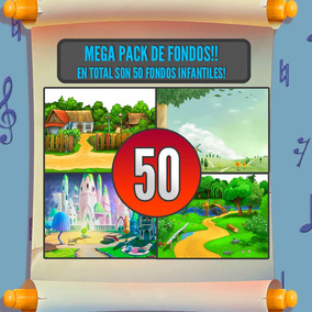 50 Fondos Infantiles Para Fotomontajes!!