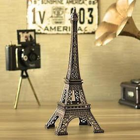 10 Torres Eiffel Metal Recuerdo Centro De Mesa Xv Años Boda