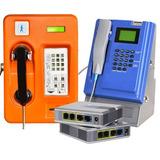 Telefono Publico Monedero Linksys Voip Ip, Con Reja Incluida