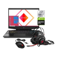 Notebook Hp Omen I7 10ma 8gb 256ssd + 1tb Gtx 1660ti Win10