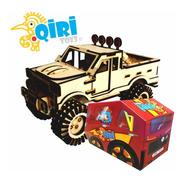 Autos Puzzle De Madera Puzzle 3d Rompecabezas Coches Camion