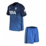 Conjunto Boca Azul Suplente 2017 Niño