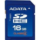 Adata Memoria Sd Hc Tarjeta 16gb Clase 4 Camaras 4mb/s