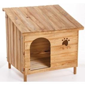 Casa Casinha Cachorro E Gato Madeira N. 03 Edícula