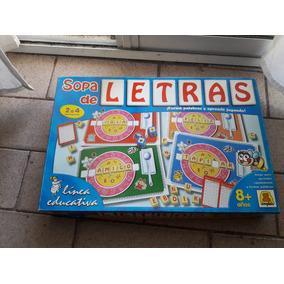 Crucigramas Y Sopas De Letras Juegos De Mesa Usado En Mercado