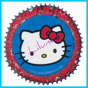 Pirotines Cupcakes Wilton Disney X50un Hello Kitty Cars