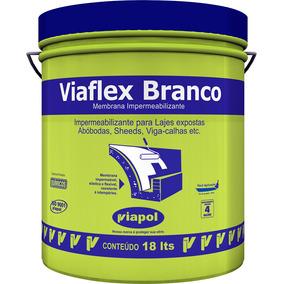 Viaflex 18 Kg - Branco Branco