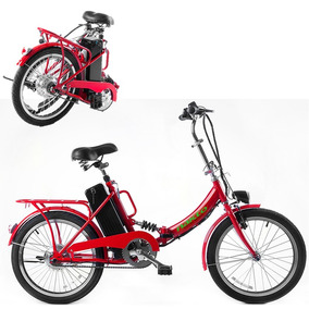 Bicicleta Electrica Plegable Litio Amortiguador R20 30km Msi