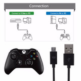 Xbox One Cable Datos Usb Carga Y Juega 3mt ** Tienda Stargus