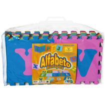Tapete Alfabeto Grande Eva 26 Pcs Nig Brinquedos