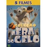 Dvd Box: A Era Do Gelo (5 Filmes) - Exclusivo - Fox Filmes
