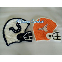 Gorro Futbol Americano Bebés Crochet