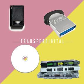 Traspaso Beta A Dvd, Vhs, 8mm, Super8, Hi8, Audio, Vinil Usb